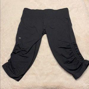 Lululemon Ebb to Street Crop Yoga Pants size 8
